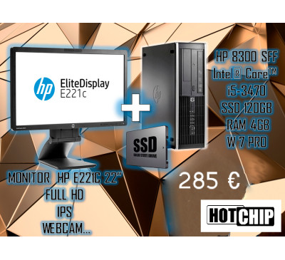 Campanha HP (PC Recond + Monitor Full HD)
