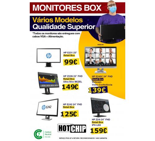 Campanha Monitores HP
