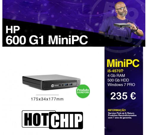 HP 600 G1 MiniPC