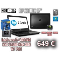 """HP ZBOOK 17"""""""