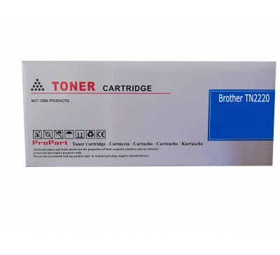Toner Compatível Brother TN2220