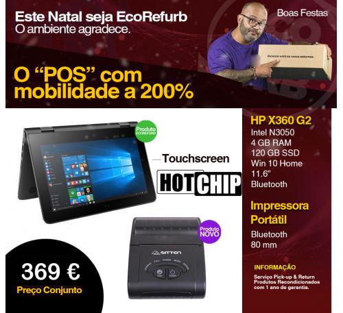 Pack HP X360 G2 + Impressora Sitten